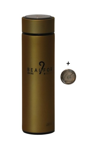 9 BFT - ACRTIC - THERMOS/ WATERBOTTLE - GOLD