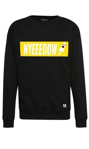 Nyeeeoowww - Sweater - Black