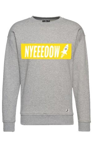 Nyeeeoowww - Sweater - Grey