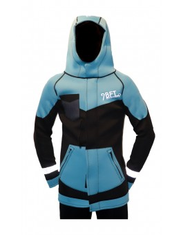9 BFT - AURORA NEOPRENE JACKET 3MM -  BLUE