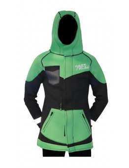 9 BFT - AURORA NEOPRENE JACKET 3MM - GREEN