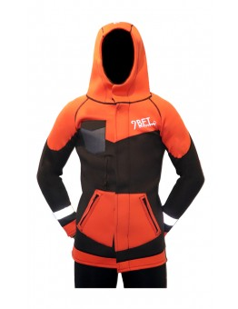 9 BFT - AURORA NEOPRENE JACKET 3MM -  ORANGE