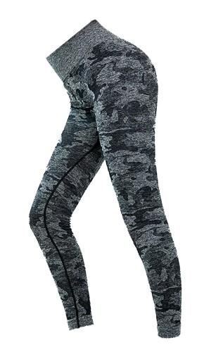 Cammo - Noir - Yoga wear